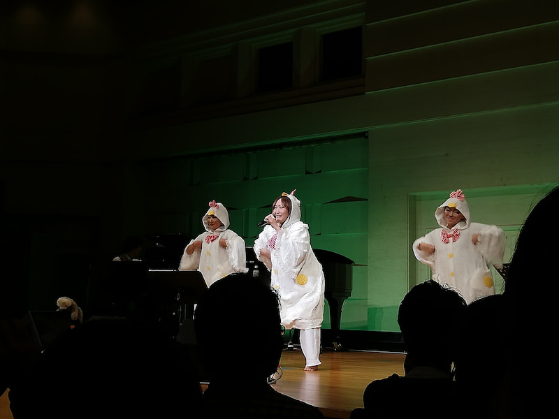 KOKIAライブ「いきものの音楽会」(お昼の部)に行ってきました〜♪